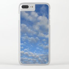 Cloudy sky Clear iPhone Case