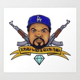 Ice Cube Art Print