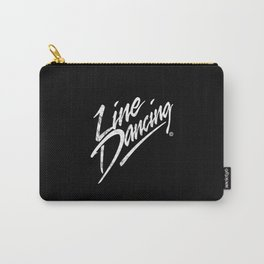 LINE DANCING HAND WRITTEN USED LOOK Carry-All Pouch