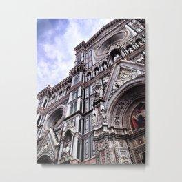 The Cattedrale di Santa Maria del Fiore Metal Print
