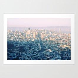 San-Francisco city Art Print