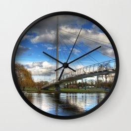 Christchurch Footbridge Reading Wall Clock