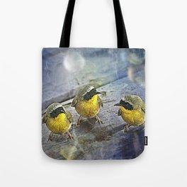 Yellowthroat Bird Tote Bag
