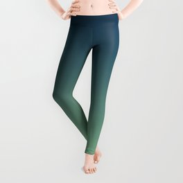 POOL BOYS - Minimal Plain Soft Mood Color Blend Prints Leggings