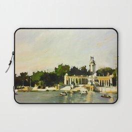 The Lake at Buen Retiro Park Laptop Sleeve