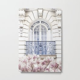 Balcony Metal Print