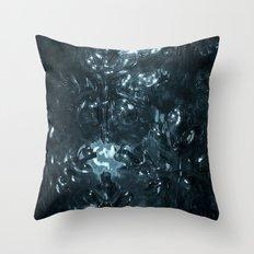 Enchanted blue Throw Pillow