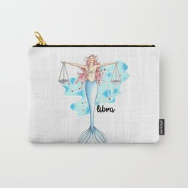 Libra Mermaid Carry-All Pouch