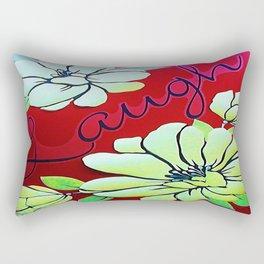 Laugh Rectangular Pillow