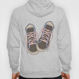 Trainers or Sneakers Illustration Hoody