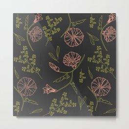 Florally Immoral Metal Print