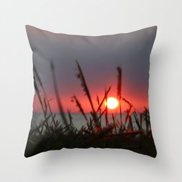 Chasing Sunsets Throw Pillow
