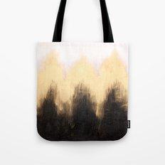 Metallic Abstract Tote Bag