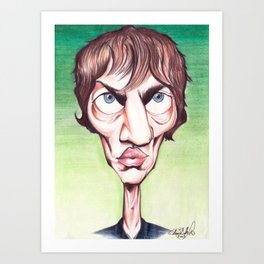 Richard Ashcroft The Verge Art Print