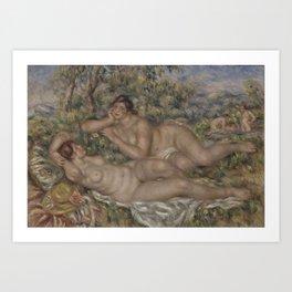 The Bathers by Pierre Auguste Renoir Art Print