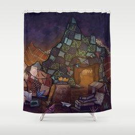 Blanket Fort Shower Curtain