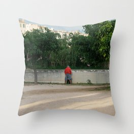 Public Enemy Throw Pillow