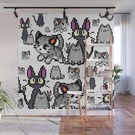 Cat and kitten 5 Wall Mural