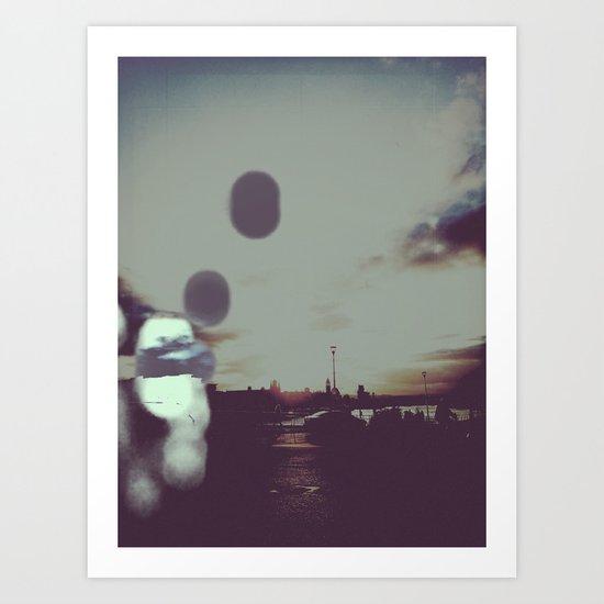 Rise and Fall Art Print