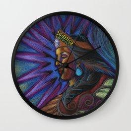 Cihtli - Higher self portrait Wall Clock