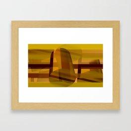Inside the outside Framed Art Print