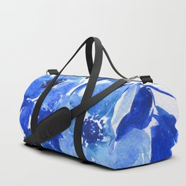 blue stillife Duffle Bag