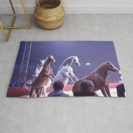 Circus Horses Rug