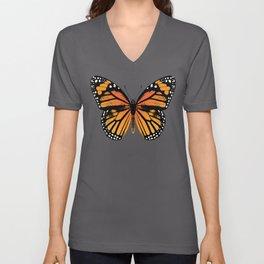 Monarch Butterfly | Vintage Butterfly | Unisex V-Ausschnitt