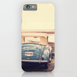 Beach Bum Vintage Car iPhone Case
