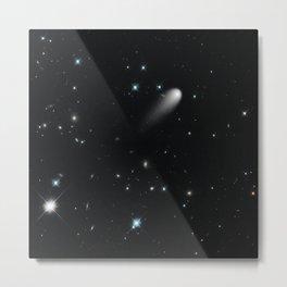 Galaxy: STArS & Comets Metal Print
