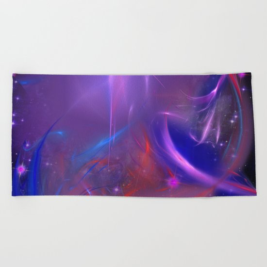 Cosmic Twister Beach Towel