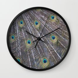 Pena Pavão Wall Clock