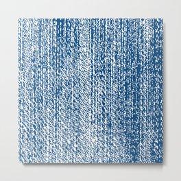 [ Textile Texture ] Jeans Metal Print