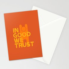 Trust in Good - Version 1 Stationery Cards