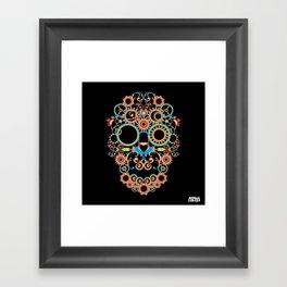 00 - STEAMPUNK BLACK Framed Art Print