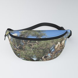 Goats in a tree Fanny Pack
