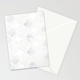Moroccan Romance [ Pearl & Marble tile ] Stationery Cards