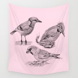 Candy Birds Wall Tapestry