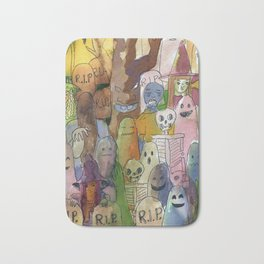 horror cute pattern Bath Mat