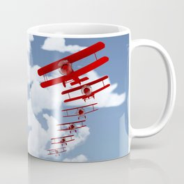 Retro Biplanes Coffee Mug