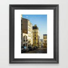 Montmartre series 1 Framed Art Print