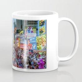 Times Square Tourists Coffee Mug