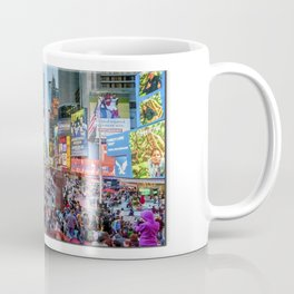 Times Square Tourists Coffee Mug