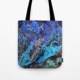 Malachite Mineral Stone rustic decor Tote Bag