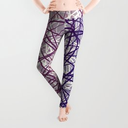 Neural Blue Leggings