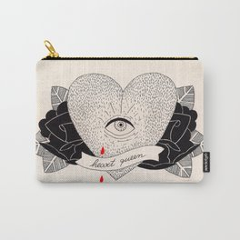 Heart Queen Carry-All Pouch