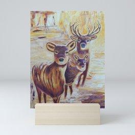 Curious   Curieux Mini Art Print