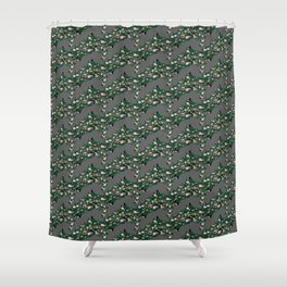 Roses pattern 1b Shower Curtain