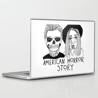 cactei Laptop & iPad Skins featuring AHS by ☿ cactei ☿