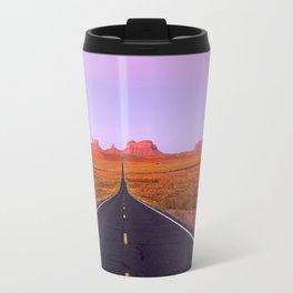 U.S. Highway 163 - Monument Valley, Utah Travel Mug